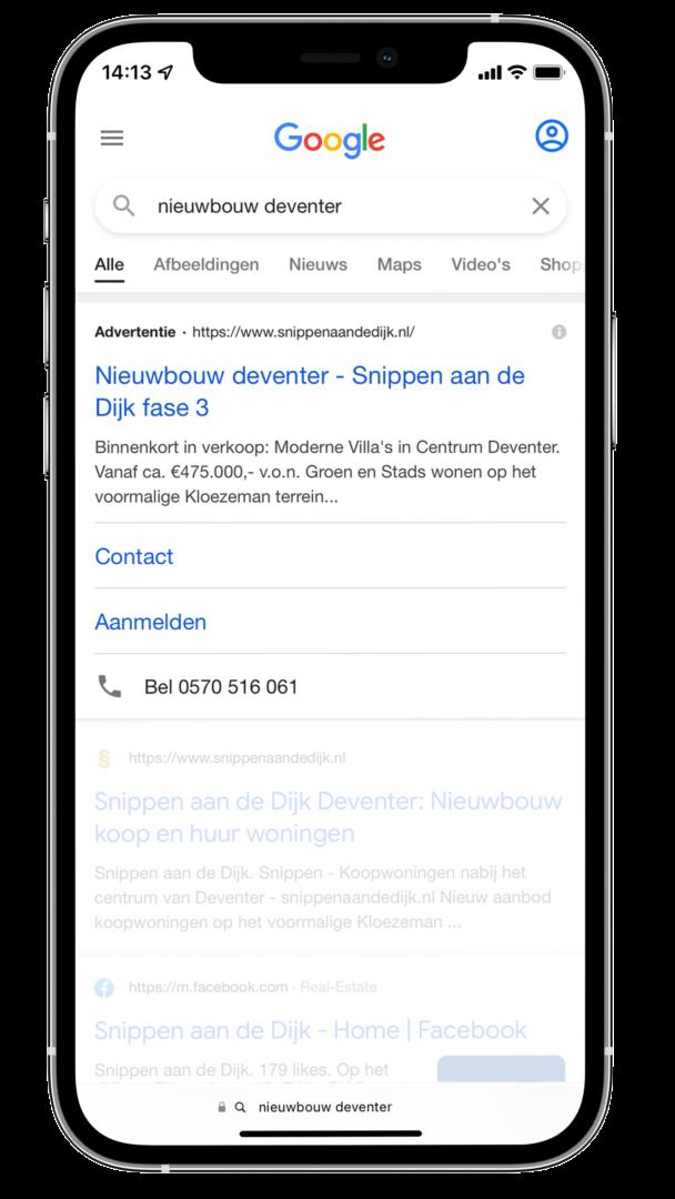 Advertising-Google-Search-Snippen-aan-de-Dijk