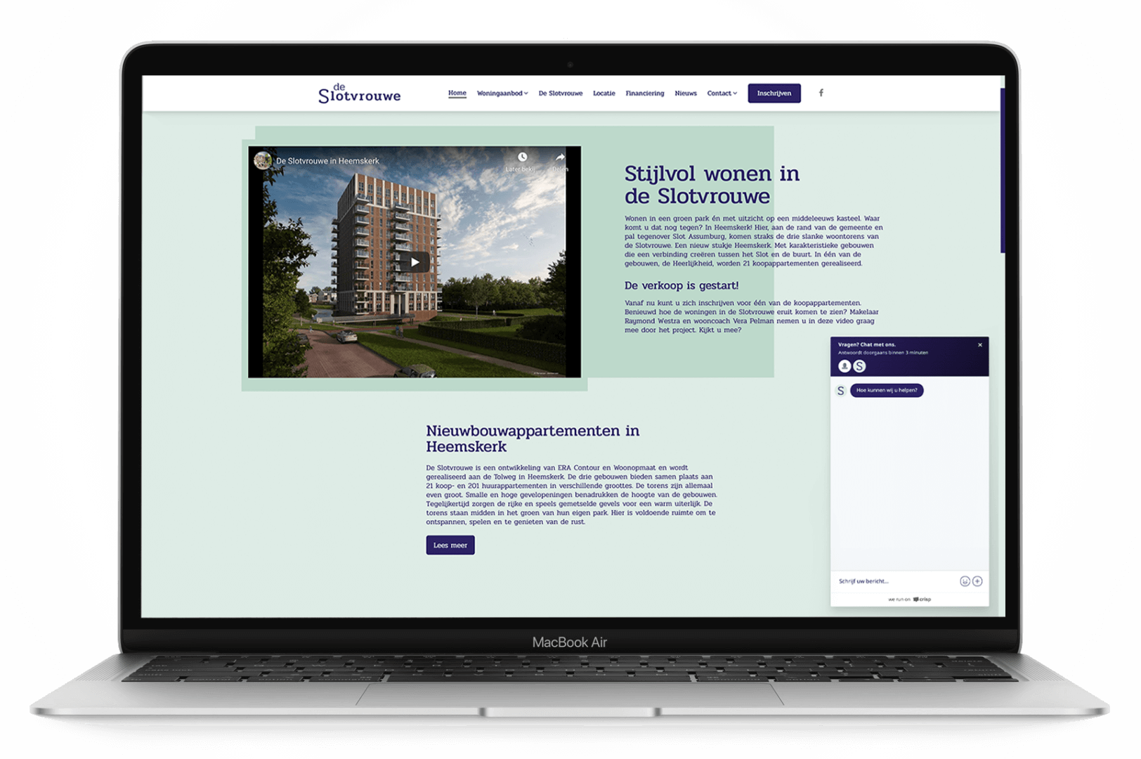 De Slotvrouwe Heemskerk - Livechat - yoreM Verovert Online