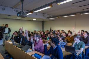 Gastcollege op de Haagse Hogeschool over data bij gebiedsontwikkelingen