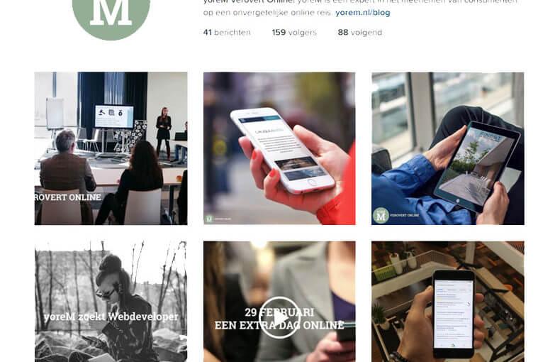 Impressie van Geen chronologische tijdlijn meer op Instagram