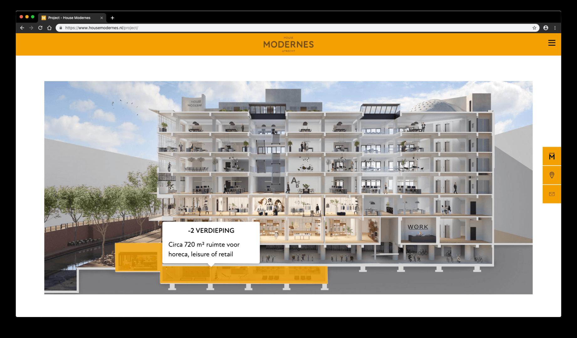Interactieve Doorsnede - House Modernes - yoreM Verovert Online