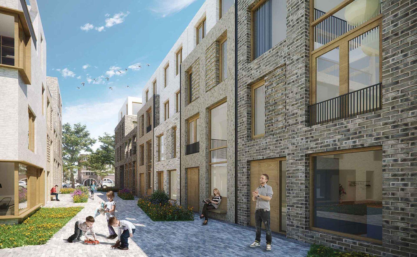 Jannink Courtyard - Impressie Straatje - yoreM - werk