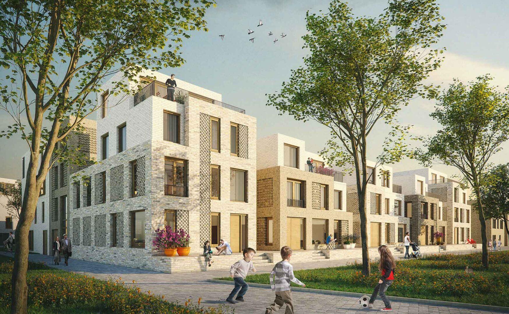 Jannink Courtyard - Impressie Vrijstaande Woningen - yoreM - werk