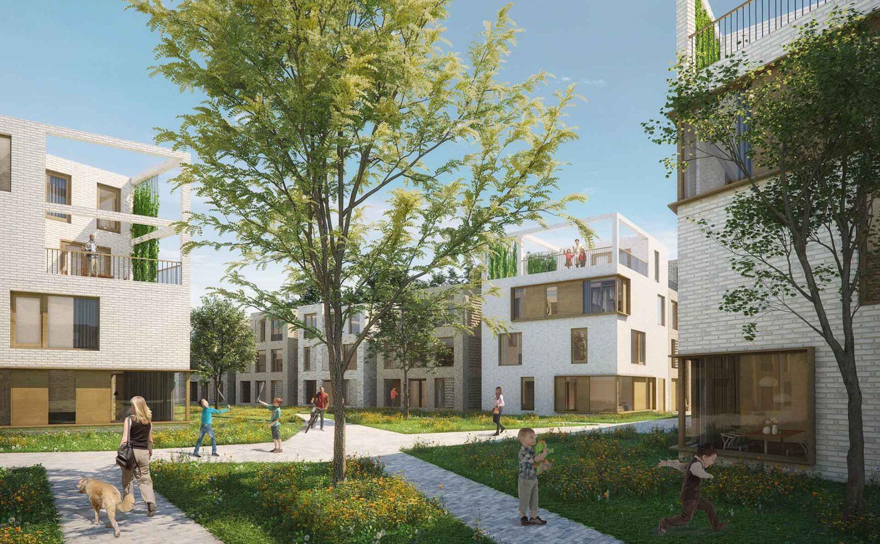 Jannink Courtyard - Impressie - yoreM - werk