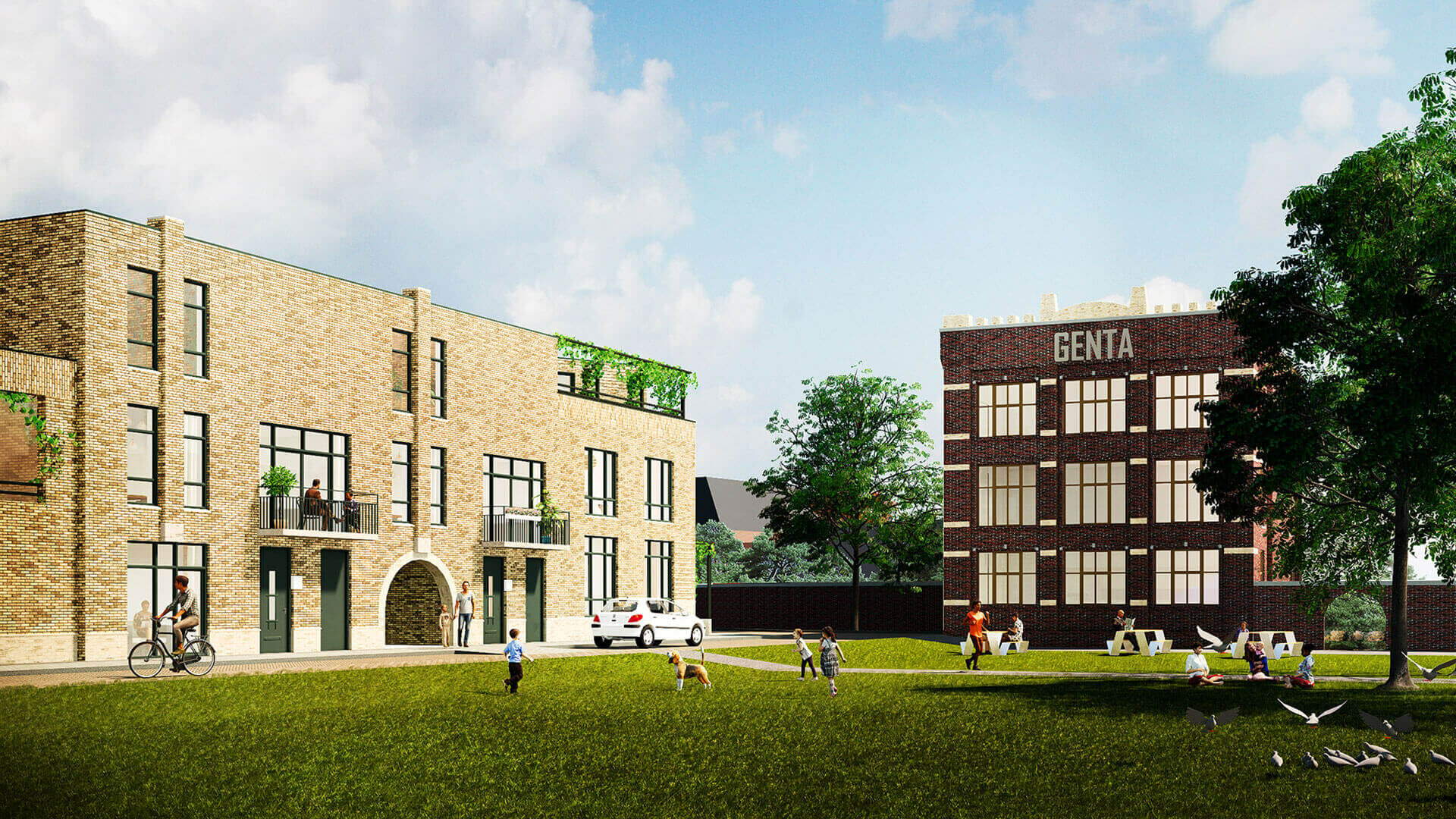 Tuinen van Genta - project - Breda - yoreM - Impressie 04