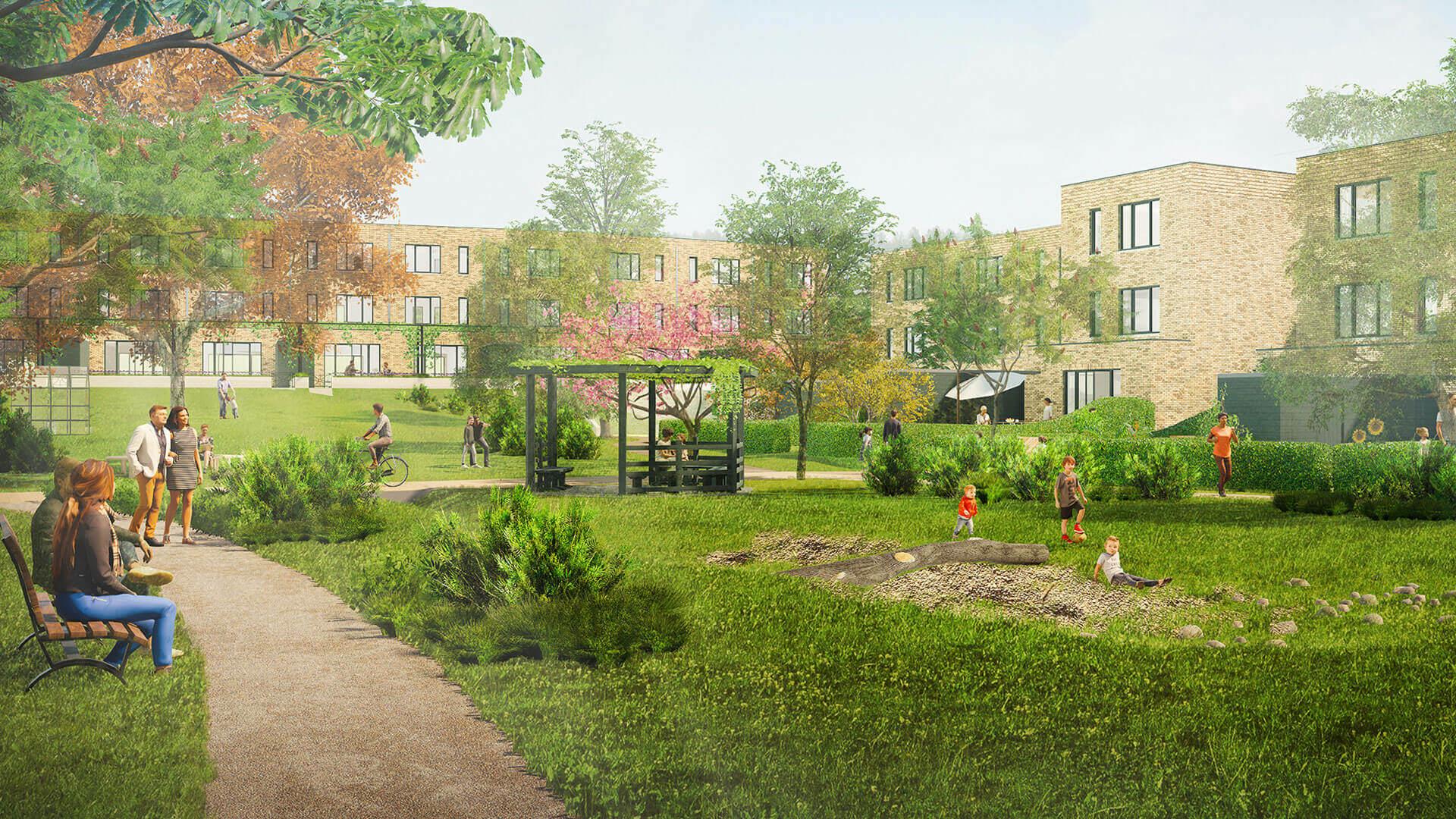 Tuinen van Genta - project - Breda - yoreM - Impressie 02