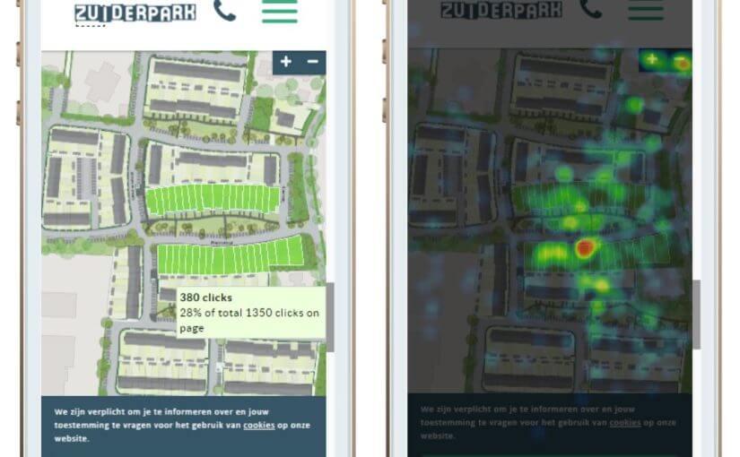 Impressie van Nieuwbouwwoningen tonen via dynamische kavelkaarten in Mapbox