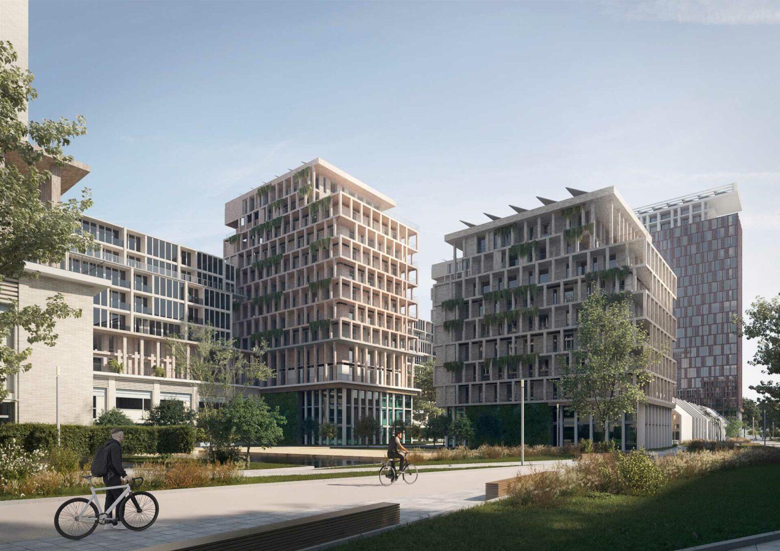 Schieveste - Nieuwbouw Schiedam - appartementen - project door yorem