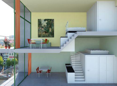 XSDELUXE-Werk-yoreM-micro-appartementen-indeling