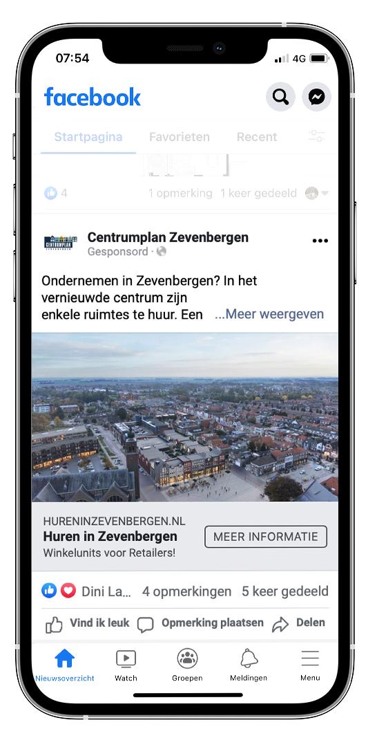 Zevenbergen - Iphone Mockup