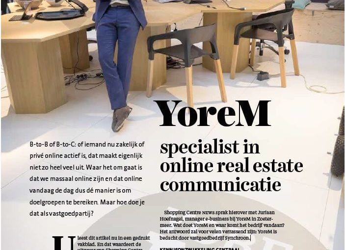 Impressie van yoreM over online marketing in de retail sector