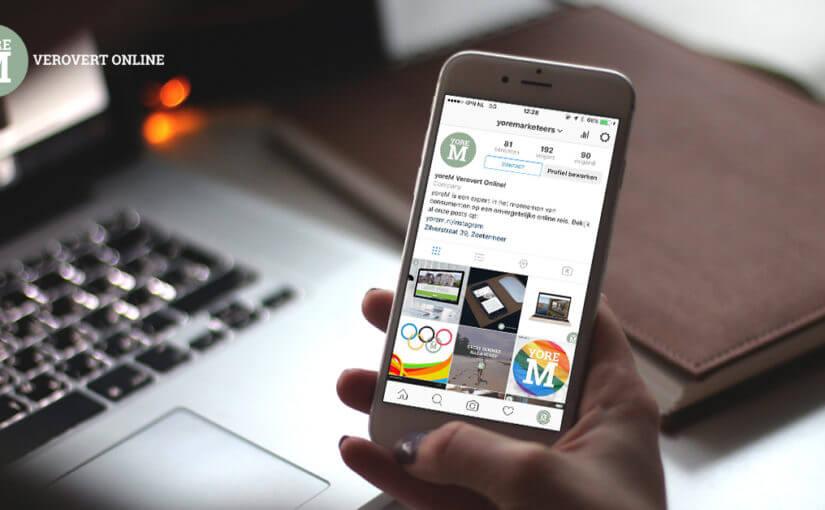Impressie van Nieuwe Instagram business tools!